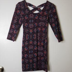 Charlotte Russe Multicolored Mini Dress